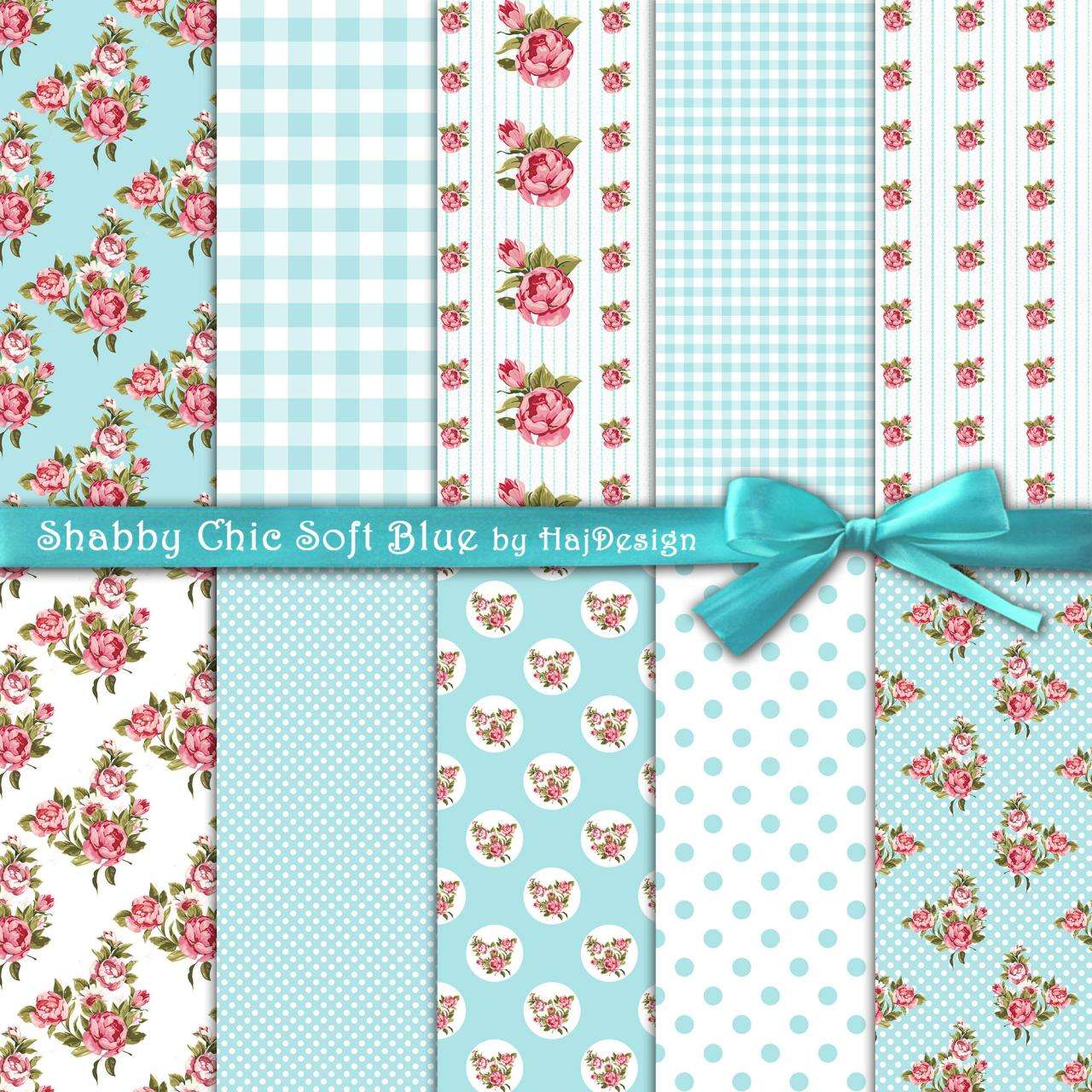 Shabby chic soft blue digital collage sheet digital paper shabby chic soft blue digital collage sheet digital paper decoupage paper shabby jeuxipadfo Image collections
